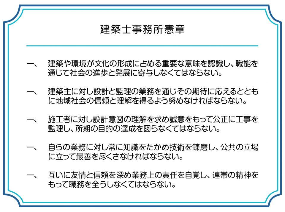 第7回_建築士事務所憲章