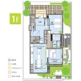 ヘーベルハウス FREX 3階建 間取り