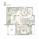ヘーベルハウス FREX 3階建て 間取り
