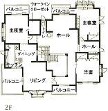 一条の洋館セゾン・藤枝東モデル 間取り